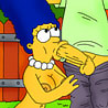 Marge Simpson with pair of tits gets screwed